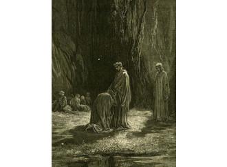 Dante fa politica e piange sull'Italia allo sbando