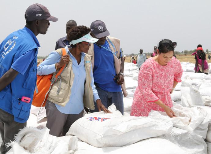 Aiuti alimentari al Sud Sudan