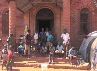 Gli studenti sfollati di Wau, Sudan del Sud