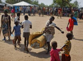 5.000 rifugiati e 8.000 sfollati in fuga dagli scontri armati iniziati nell'Equatoria Centrale il 19 gennaio