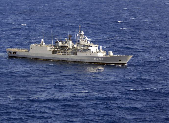 La fregata greca Spetsai
