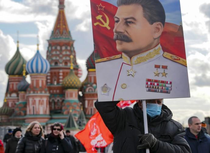 Commemorazione di Stalin a Mosca