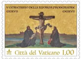 Lutero e Melantone sotto la Croce