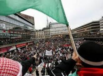Manifestazione antisionista a Stoccolma