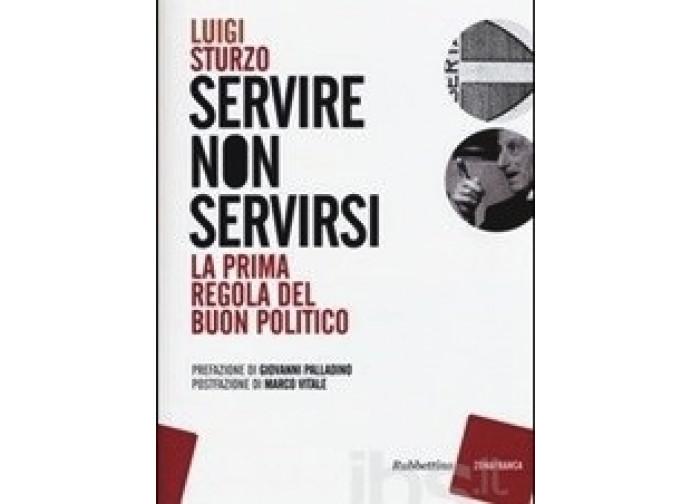 La copertina del libro con gli scritti di don Sturzo