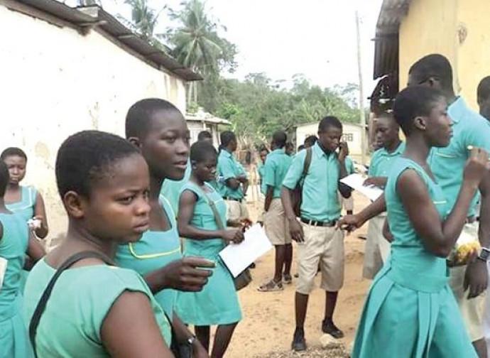 Studentesse in Africa
