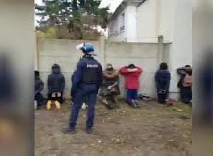 Studenti fermati dalla polizia