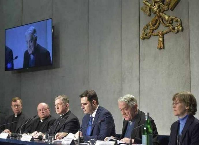 Conferenza stampa di presentazione del summit vaticano sugli abusi sessuali