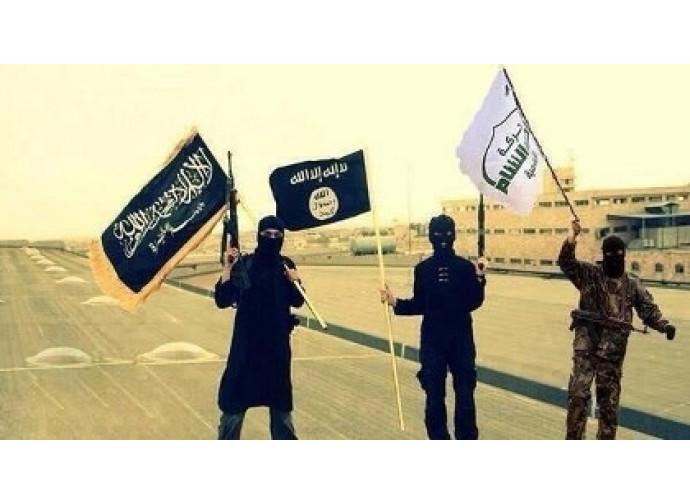Bandiere nere jihadiste