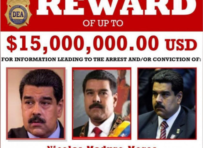 La taglia su Maduro