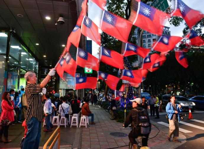 Taiwan, bandiere