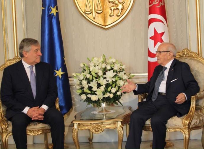 Tajani a Tunisi