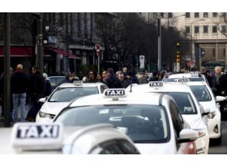 Taxi, una protesta contro il bene comune