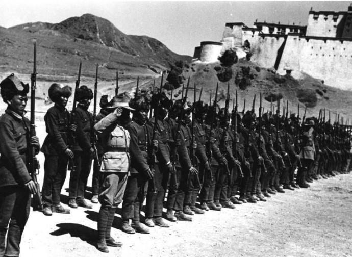 L'esercito tibetano prima dell'invasione