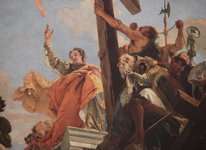 Scoperta della vera croce da parte di Sant'Elena (G.B. Tiepolo)