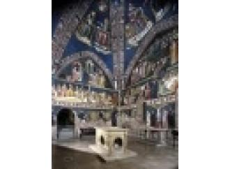 San Nicola, gli evangelisti e i dipinti della vita di Maria