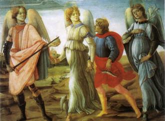 I santi Arcangeli, alla presenza della Maestà di Dio