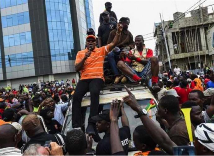 Manifestazioni in Togo