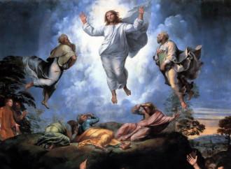 """Trasfigurazione, """"luce da luce"""" secondo Raffaello"""