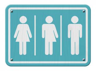 Bagni gender neutral a Reggio Emilia