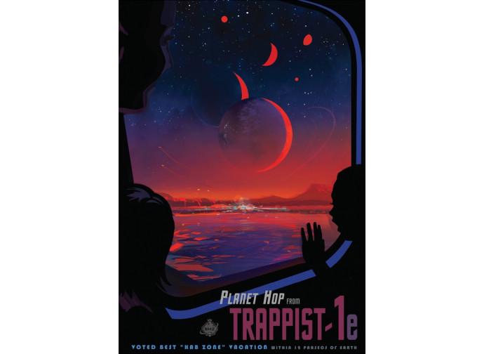 Trappist-1, come lo immagina la NASA
