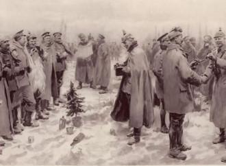 La notte santa del '14 che affratellò i soldati nemici