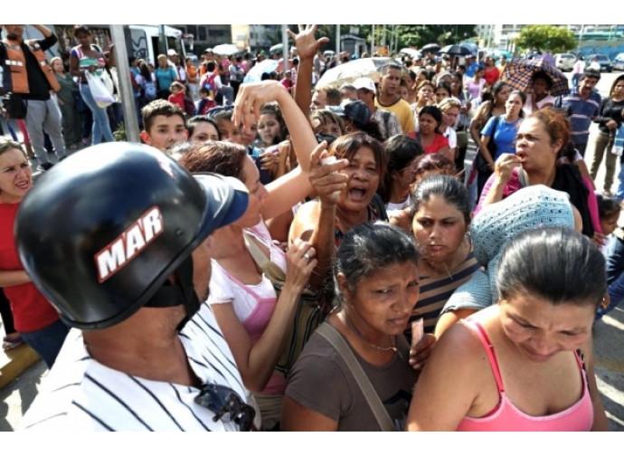 Manifestazione di protesta contro il governo venezuelano