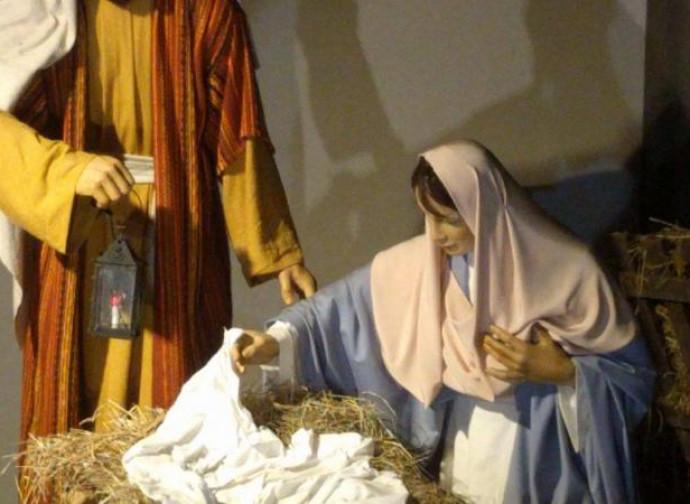 Trento, il Gesù Bambino rubato