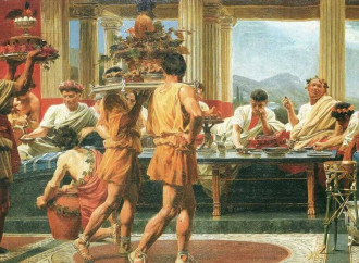 Cena di Trimalchione, madre del grottesco e del kitsch