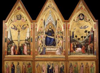 Pietro e Paolo, Principi della fede nel trittico di Giotto