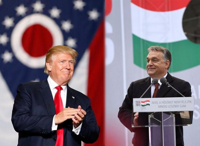 Trump e Orban