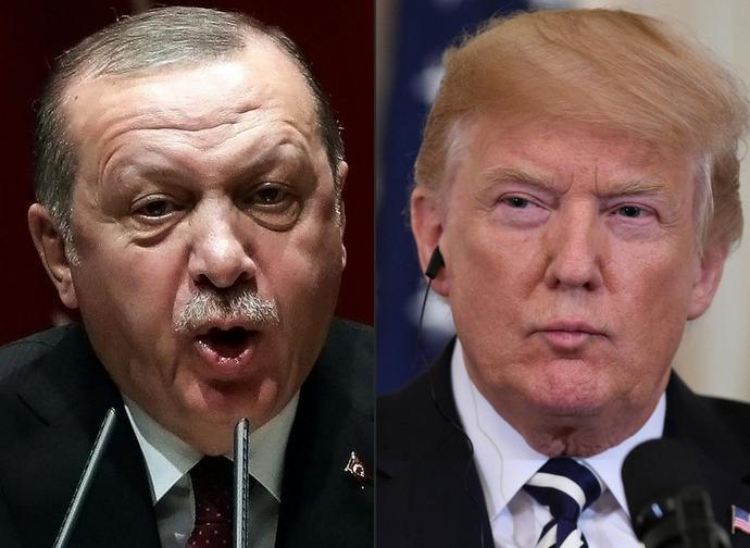 I presidenti turco Erdogan e americano Trump