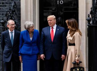 """Trump a Londra: visita """"scomoda"""", ma solo per gli europeisti"""