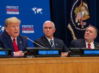 Libertà religiosa, vita e famiglia: svolta di Trump all'Onu