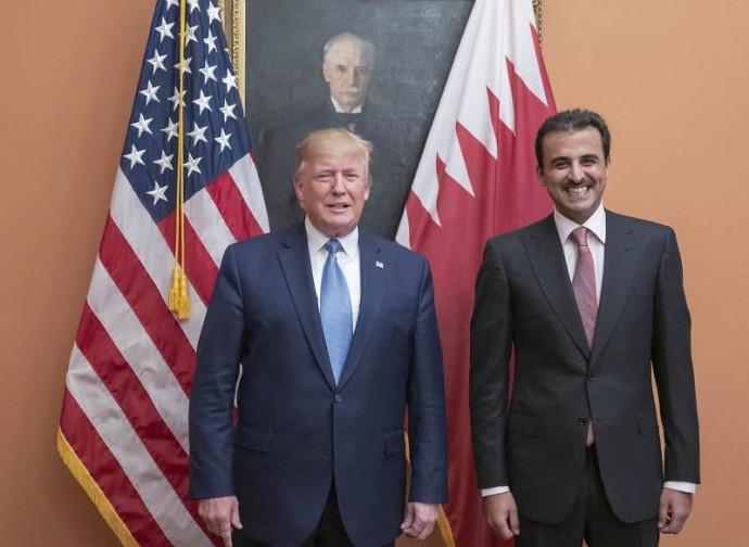 Trump e l'emiro
