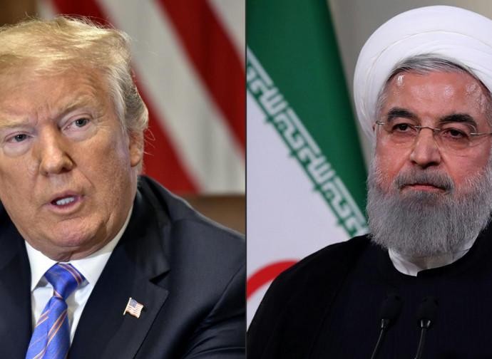 Trump e Rouhani
