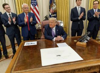 Trump media l'accordo fra Israele ed Emirati