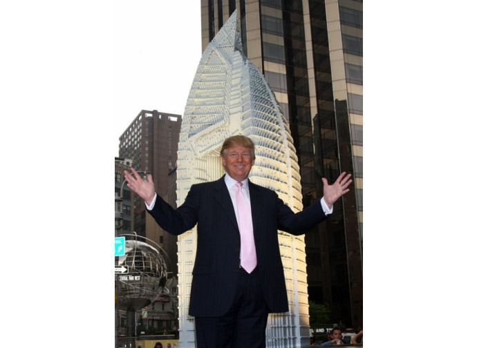 "Donald Trump nella ""sua"" New York"