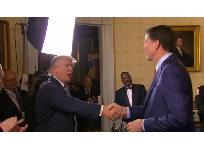Trump e Comey