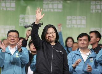 Taiwan riconferma la Tsai, altro voto contro il comunismo cinese