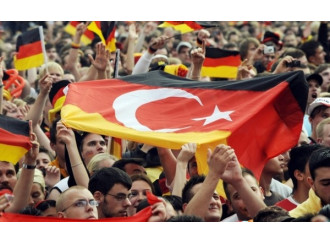Erdogan fa campagna elettorale in Germania