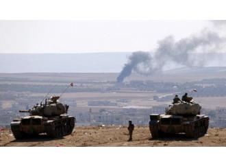 Kobane resiste nell'ingorgo delle alleanze