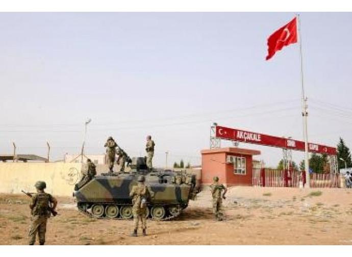 Turchia-Siria, la frontiera militarizzata
