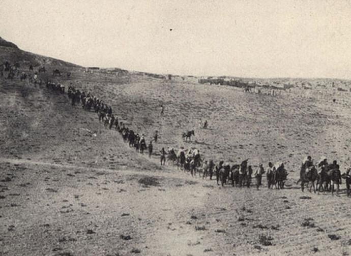 Armeni in fuga