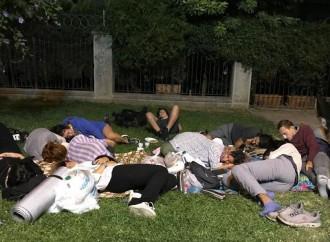 Studenti universitari in rivolta in Turchia