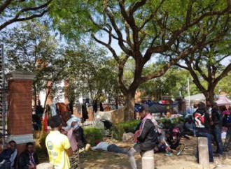 I rifugiati in Sudafrica vogliono essere trasferiti in paesi sicuri