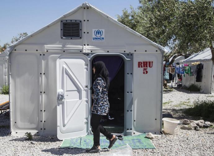 Unhcr, campo profughi in Grecia