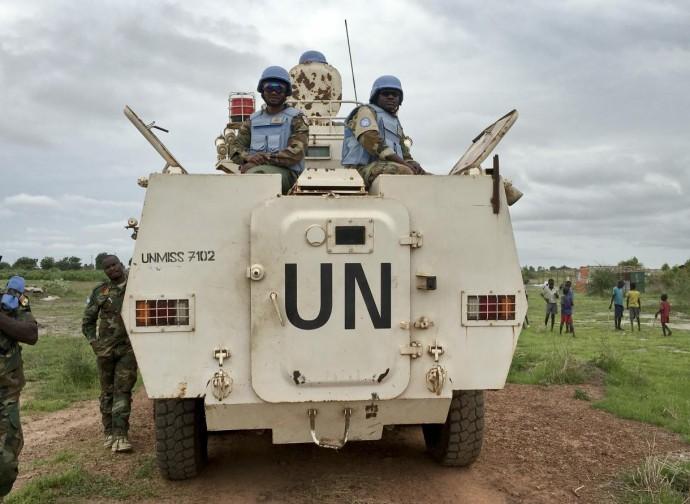 Caschi blu in Sudan del Sud