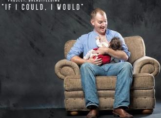 """Uomini che allattano: """"Non si può, ma fingeremo sia vero"""""""