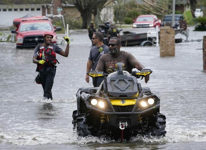 È passato l'uragano Ida